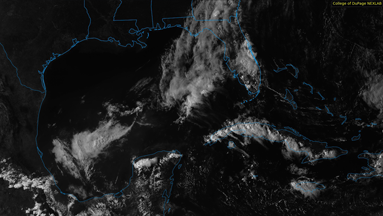 GOES visible imagery